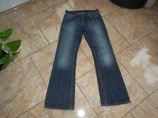 H1603 LEE DENVER Jeans W30 Dunkelblau ohne Muster