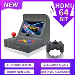 Retro Handheld Controle Arcade Game Console 64Bit 3000 Games Video Game Console