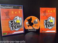 SLAM TENNIS Jeu PS2 Complet avec Notice - Playstation 2