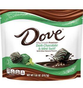Dove Promises Dark Chocolate Mint Swirl 7.61oz Bag FREE SHIPPING