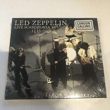 Led Zeppelin Live In Sweden And Copenhagen 1969 Digipack Cd