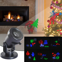 HOMCOM Christmas Laser Light Projector Decoration Garden Landscape Parties