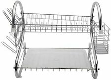 Kitchen Dry Rack S-shape - Chrome