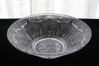 """Federal Glass Clear Heritage 10 1/2"""" Serving Bowl"""