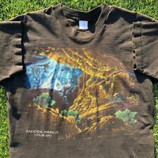 Rare VTG 90s FOTL Pagosa Springs Colorado Cave Lightning SINGLE STITCH T Shirt L