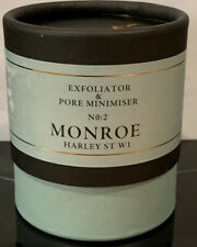 NEW MONROE HARLEY STREET MENS EXFOLIATOR & PORE MINIMISER 60ml