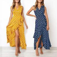 Dress sundress Cocktail Maxi Womens Dresses Casual Long women's Fashion V Neck