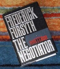 THE NEGOTIATOR Frederick Forsyth 1989 1st Ed First Edition anti White House plot