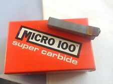 "BT-5 Brazed Carbide Tip RH Box Turning Tool Bit 5/16"" Square Shank Micro-100 USA"