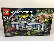 LEGO Racers Tiny Turbos Tuner Garage (8681) New Sealed