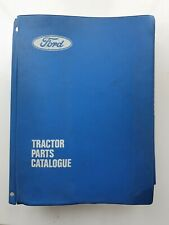 FORD 2600 TO 7600 6700 7700 TRACTOR PARTS CATALOGUE