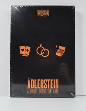 Detective Stories Case 1  Fire in Adlerstein Deduction Game  BRAND NEW