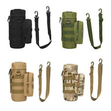 New listing Camping Water Bottle Bag Molle Outdoor Hiking Cycling Kettle Carrier Pouch