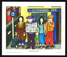 O'connor's bar/bus stop/pub/n / irlandés Arte group/fine print/martin laverty/ireland