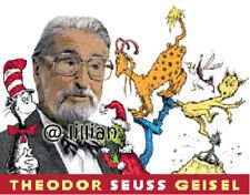 DR SEUSS CAT IN THE HAT GRINCH THEODOR SEUSS GEISEL Cross Stitch PATTERN