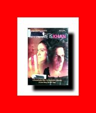 ☆Only1eBay:INDIAN DVD-EX-LIB:MY NAME IS KHAN:HINDI+ENGLISH:SHAH RUKH KHAN+KAJOL☆