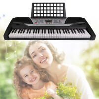 61 Key Digital Electric Piano Electronic Personal Music Keyboard for Beginner IO