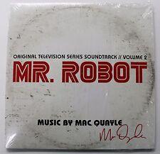 MR. ROBOT Volume 2 LP Vinyl Soundtrack Score AUTOGRAPHED Signed MAC QUAYLE New!