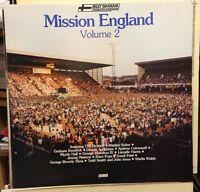 BILLY GRAHAM Mission England Volume 2 1985 UK Vinyl LP DAVE POPE CLIFF RICHARD