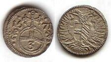 (32,27)  Oppeln, Schlesien, 3 Pfennig 1671
