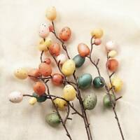 Easter Egg Tree Branch Home Decoration Painting Eggs Spring Party DIY Decor-NEW