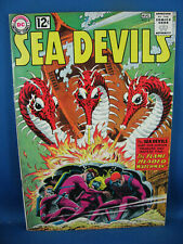 SEA DEVILS 6 VF+ 1962
