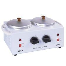 1200ml Wax Waxing Heater Warmer Handle W/2 Pots Paraffin Hair Depilatory Removal
