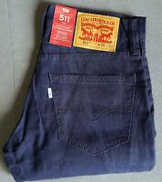 Herren Jungen Jeans LEVIS LEVI´S 511 Slim Fit 04511-2224 W28 L30