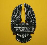Pin's lapel pin Pins Moto Logo Harley Davidson MOTOR MECHENAL CYCLES Ailes Wings