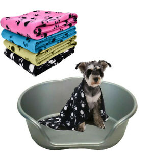 PLASTIC DOG BED BASKE WITH PET BLANKET FOR  PUPPY SMALL DOG/CAT/ANIMAL/SLEEP