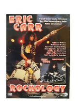 Kiss Eric Carr Poster Rockology Live On Stage