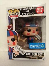 Funko Pop! Five Nights At Freddy 'globo chico no 217 Walmart Exclusivo