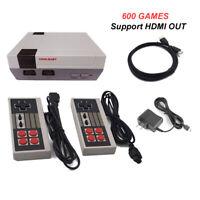 Mini TV Game Console HDMI/AV Retro Video Game Console Built-In 600 Classic Games