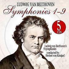 Sämtliche Sinfonien 1-9 (GA) von Herbert von Karajan (2014)