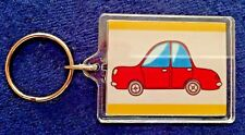 """I Love My Car"" Keyring - Novelty Gift - Hand made - Any car make"
