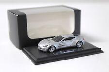 1:87 FrontiArt Aston Martin One-77 silver 2009 NEW bei PREMIUM-MODELCARS