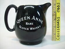Vintage Black Queen Anne Rare Scotch Whisky Jug Pitcher Decanter by Wade England