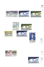 [OP9545] Mauritania lot of stamps on 12 pages