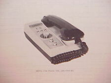 1977 LAFAYETTE CB RADIO SERVICE SHOP MANUAL MODEL COM-PHONE 23A (99-33342W)
