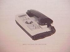 1977 LAFAYETTE CB RADIO SERVICE SHOP MANUAL MODEL COM-PHONE 23A (99-33342W)