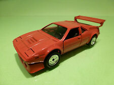 GAMA MINI 891 8914  BMW M1 SPOILER WING - RED 1:43 - EXCELLENT CONDITION