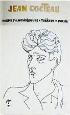 1960 Israel JEAN COCTEAU Anthology JEWISH ART BOOK Israel DRAWINGS Hebrew ULMAN