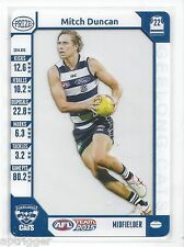 2015 Teamcoach Album Acetate Prize Card MItch DUNCAN Geelong