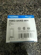 Lutron HWD-8ANS-WH  (((LOT OF FOUR )))