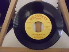 DOO WOP 45 THE FIVE SATINS TO THE AISLE/JUST TO BE NEAR YOU MUSICTONE
