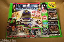 Dr Who - MONSTER INVASION - Issue 1 - inc sealed trading cards