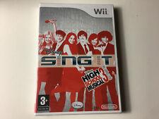 sing it high school musical nintendo wii sous blister