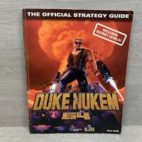 Duke Nukem 64 The Official Strategy Secrets of the Game Guide Covers N64 Game
