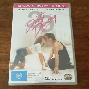 Dirty Dancing 20th Anniversary Edition DVD R4 BRAND NEW SEALED! FREE POST
