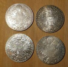 4x Maria Theresia Taler 1780 Silber Münze Theresientaler Konvolut Lot selten